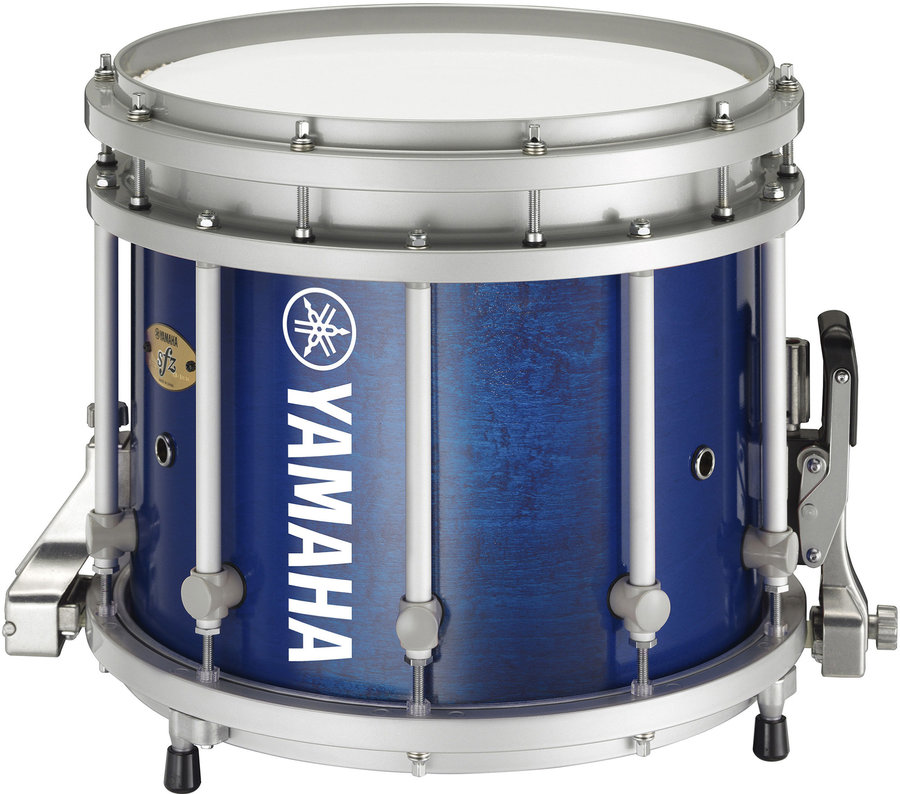 View larger image of Yamaha MS-9313 Sforzando Marching Snare Drum - Blue Forest - 13x11