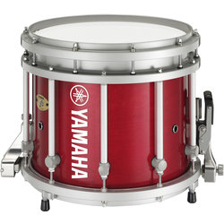 Yamaha MS-9313 Sforzando Marching Snare Drum - Red Forest - 13x11