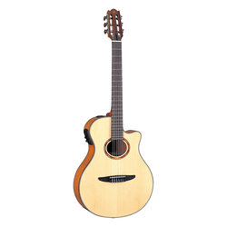 Yamaha NCX900FM Acoustic-Electric Classical Guitar - Flamed Maple