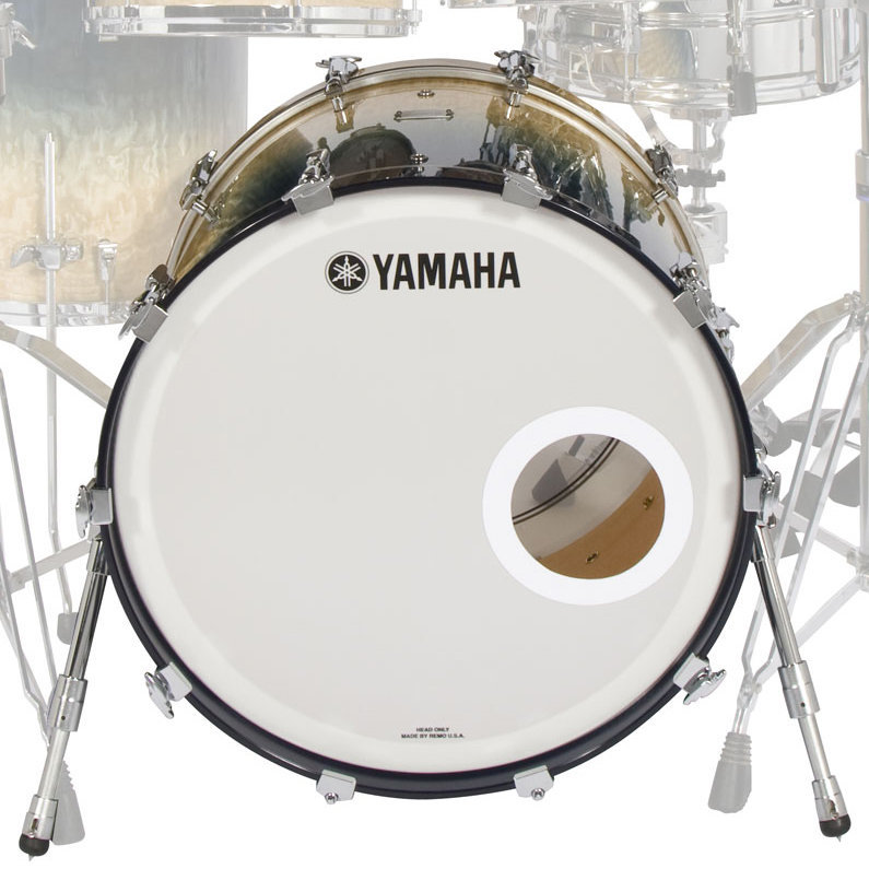 View larger image of Yamaha PHX Series Bass Drum - 20x16, Turquoise Fade