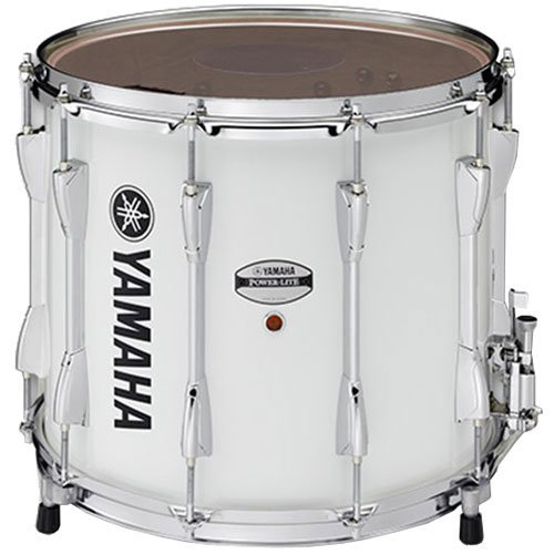 View larger image of Yamaha Power-Lite Marching Snare Drum - White