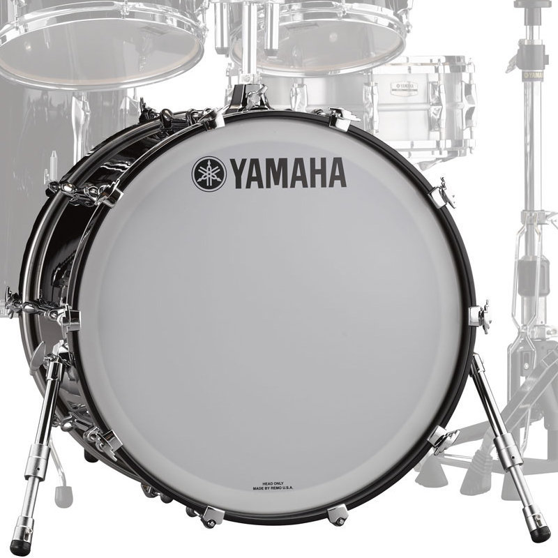 View larger image of Yamaha Recording Custom Bass Drum - 22x18, Solid Black
