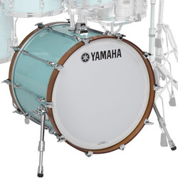 Yamaha Recording Custom Bass Drum - 22x18, Surf Green