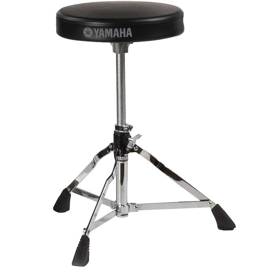 View larger image of Yamaha Rydeen 5-Piece Drum Set - 20/14SD/14FT/12/10, Hardware, Cymbals, Throne, Black Glitter