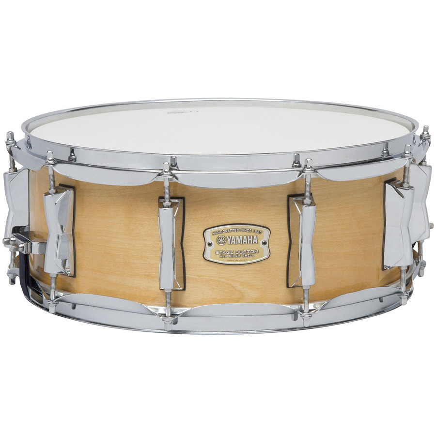 View larger image of Yamaha SBS1455 Stage Custom Birch Snare Drum - 14 x 15.5, Natural