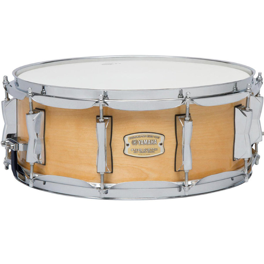 View larger image of Yamaha Stage Custom Birch 5-Piece Shell Pack - 20/14SD/14FT/12/10, Natural Wood