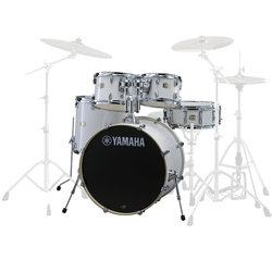Yamaha Stage Custom Birch 5-Piece Shell Pack - 20/14SD/14FT/12/10, Pure White