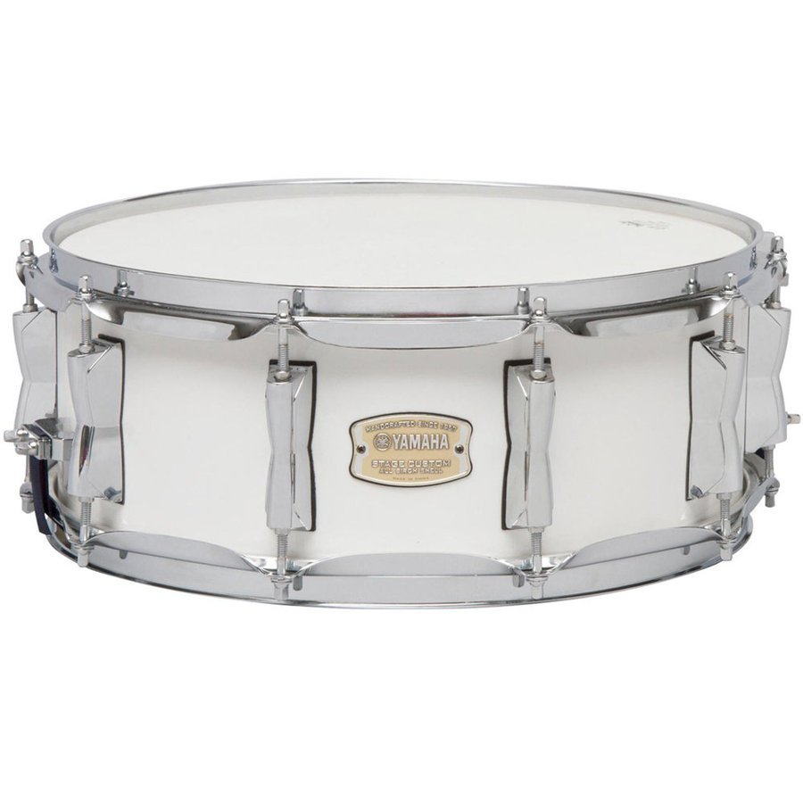 View larger image of Yamaha Stage Custom Birch 5-Piece Shell Pack - 20/14SD/14FT/12/10, Pure White