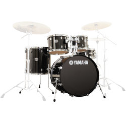 Yamaha Stage Custom Birch 5-Piece Shell Pack - 22/14SD/16FT/12/10, Raven Black