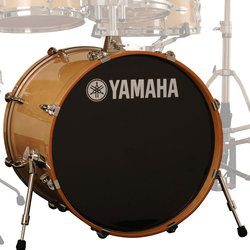 Yamaha Stage Custom Birch Bass Drum - 22x17, Natural Wood