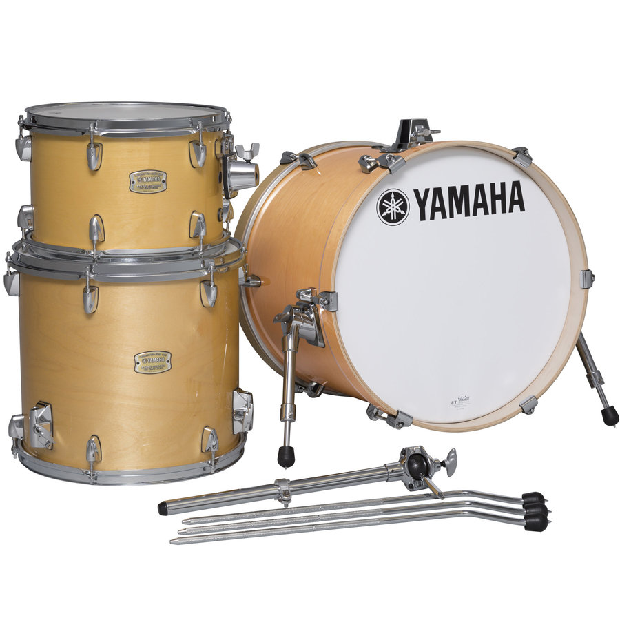 View larger image of Yamaha Stage Custom Bop 3-Piece Shell Pack - 18/14FT/12, Natural Wood