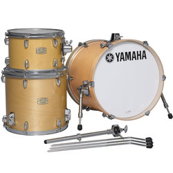 Yamaha Stage Custom Bop 3-Piece Shell Pack - 18/14FT/12, Natural Wood