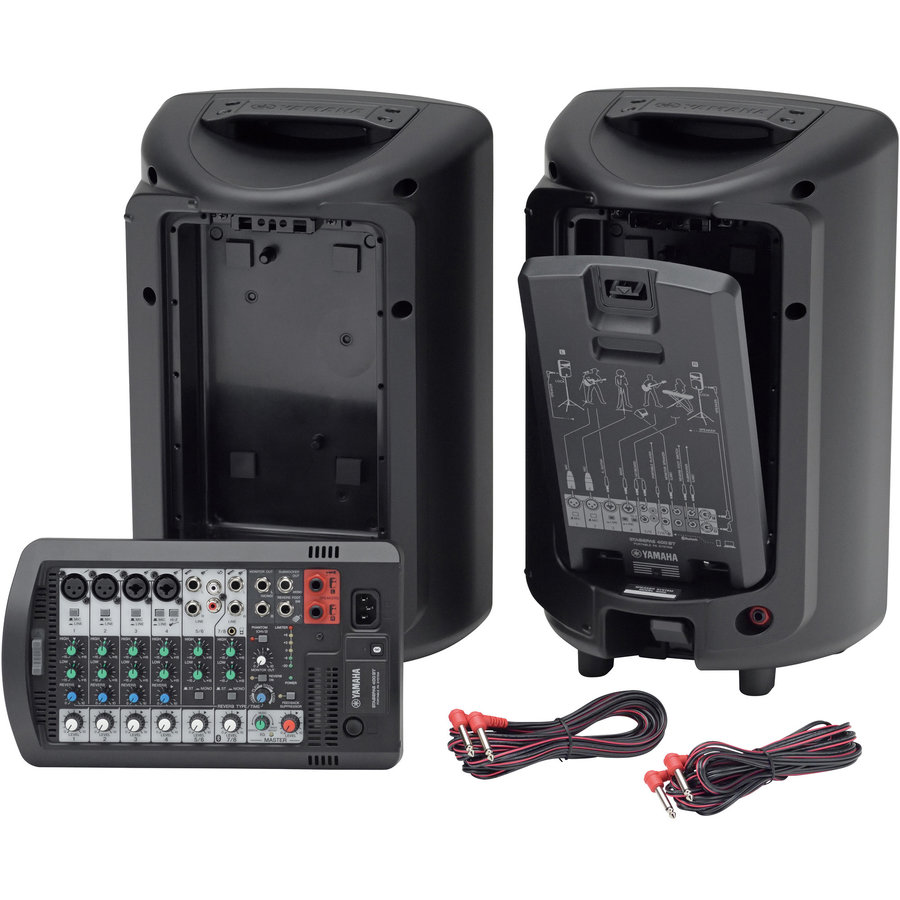 View larger image of Yamaha StagePas 400BT Portable PA System