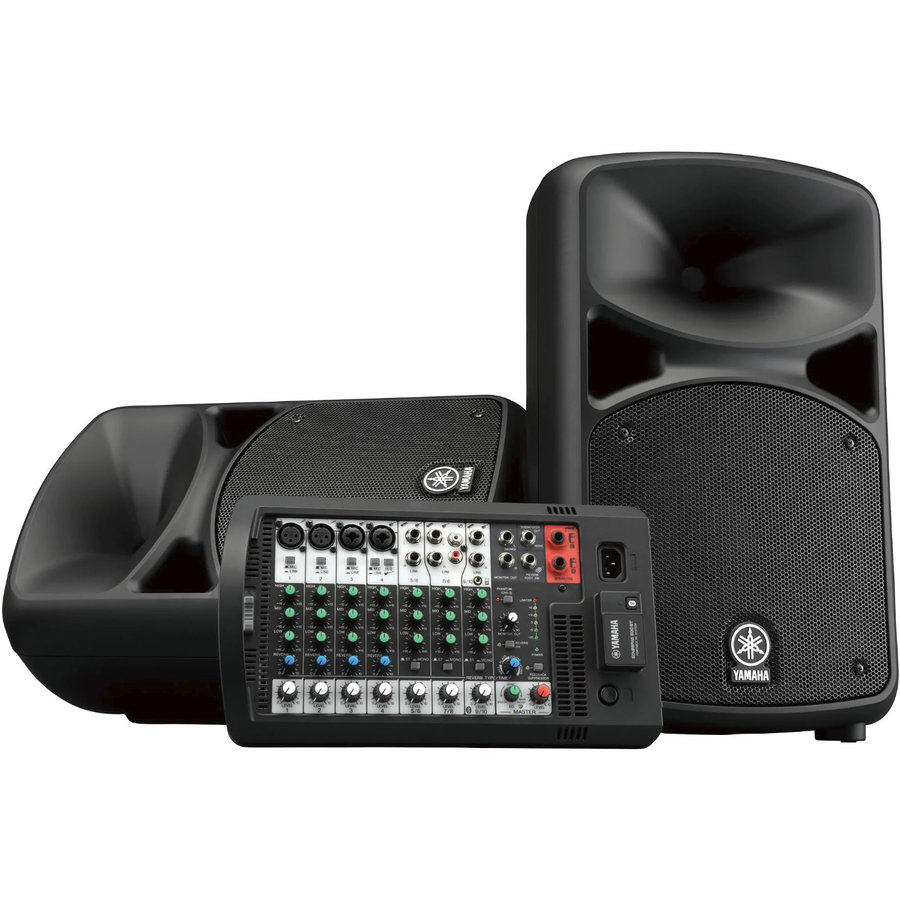 View larger image of Yamaha StagePas 600BT Portable PA System