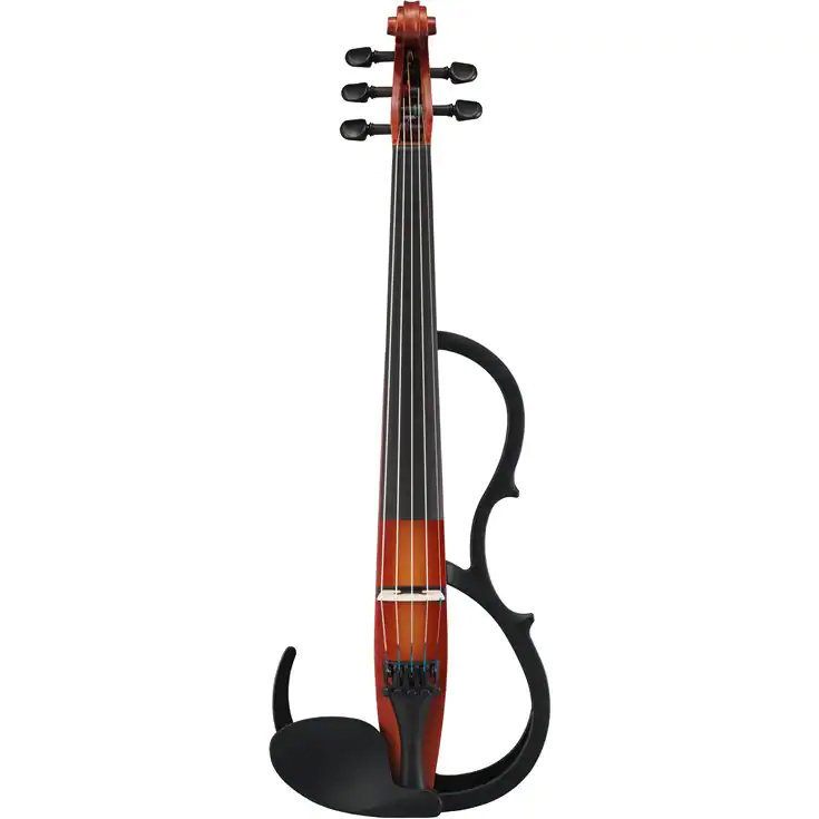 View larger image of Yamaha SV255 5-String Silent Violin - Brown
