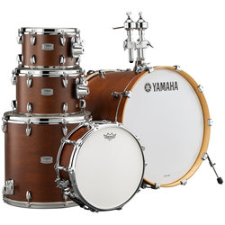 Yamaha Tour Custom 5-Piece Drum Kit - 22/14SD/16FT/12/10, Hardware, Chocolate Satin