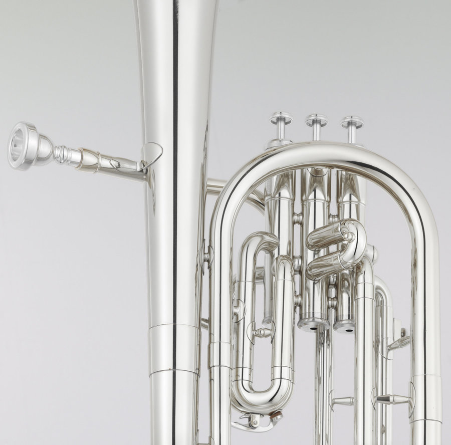 View larger image of Yamaha YAH-203S Alto Horn - Silver