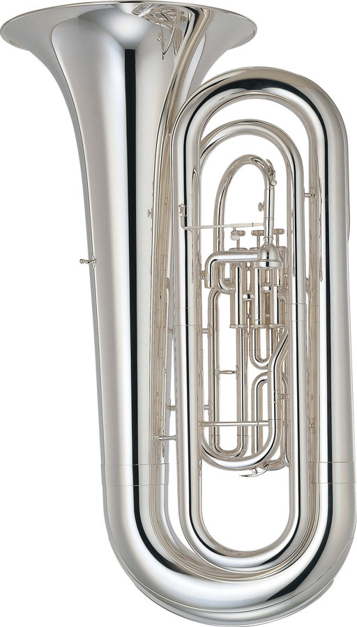 View larger image of Yamaha YBB-201MS Marching Tuba - Silver Plated