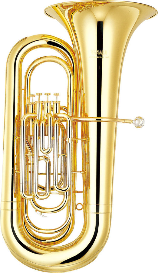 View larger image of Yamaha YBB-321 Tuba - Clear Lacquer, Bb