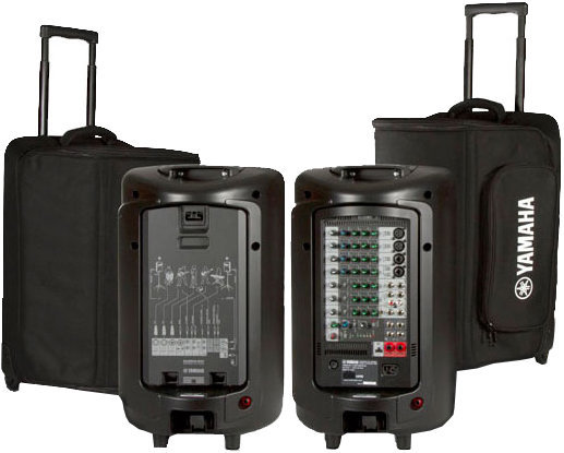 View larger image of Yamaha YBSP600i Soft Rolling Carry Case for STAGEPAS 600i
