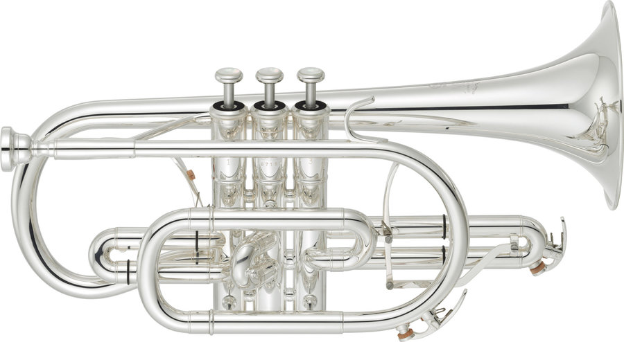 View larger image of Yamaha YCR-8335GS Neo Cornet - Gold Brass Silver-Plated