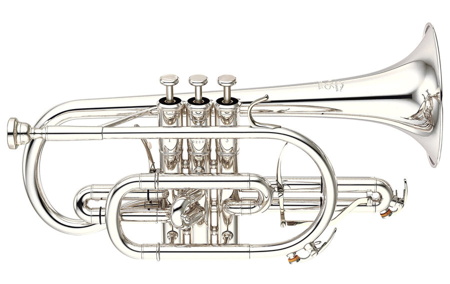 View larger image of Yamaha YCR-8335S Neo Cornet - Yellow Brass Silver-Plated