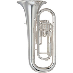 Yamaha YEP-201MS Marching Euphonium - Silver Plated