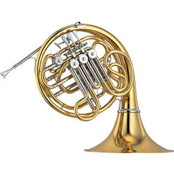 Yamaha YHR-668IID Double French Horn - Yellow Brass with Detachable Bell