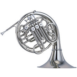 Yamaha YHR-668NDII Double French Horn, Detachable Bell, Nickel-Silver