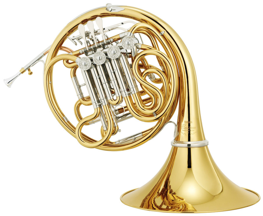 View larger image of Yamaha YHR-891 Triple French Horn with Detachable Bell