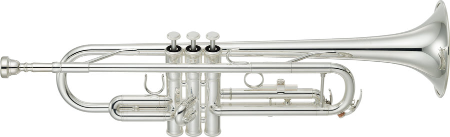 View larger image of Yamaha YTR-3335S Trumpet - Silver