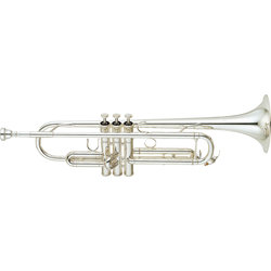 Yamaha YTR-6335S Trumpet - Silver
