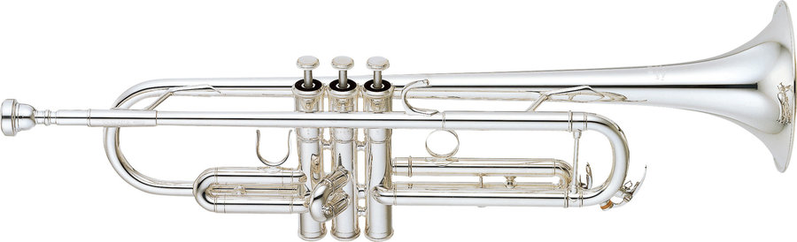 View larger image of Yamaha YTR-6345GS Trumpet - Silver
