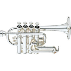Yamaha YTR-6810S Piccolo Trumpet - Silver