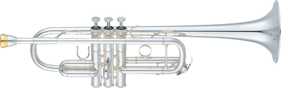 View larger image of Yamaha YTR-8445GS Xeno C Trumpet - Gold Brass Silver-Plated
