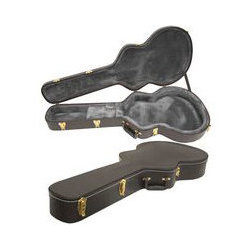 Yorkville YEC-6HESDLX Deluxe Arch-Top Hardshell Guitar Case for Gibson ES-335