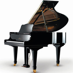 Young Chang Classic Grand Piano - 5'2, Ebony Polish, with PianoDisc
