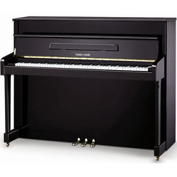 Young Chang Studio Upright Piano - Ebony Polish