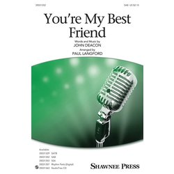 You're My Best Friend (Queen)- SAB, Parts