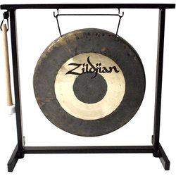 Zildjian 12 Traditional Gong and Table-Top Stand Set