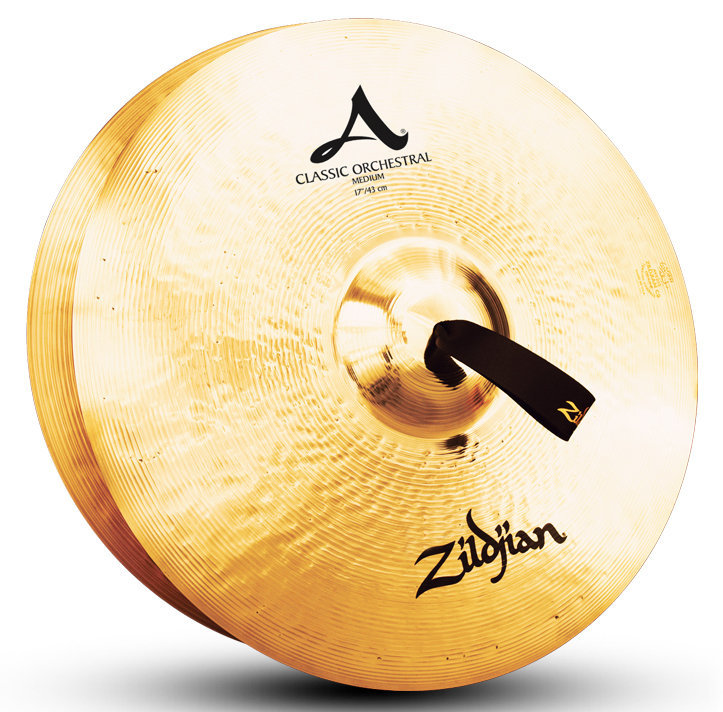 View larger image of Zildjian A Classic Orchestral Selection Cymbals - 17, Medium, Pair