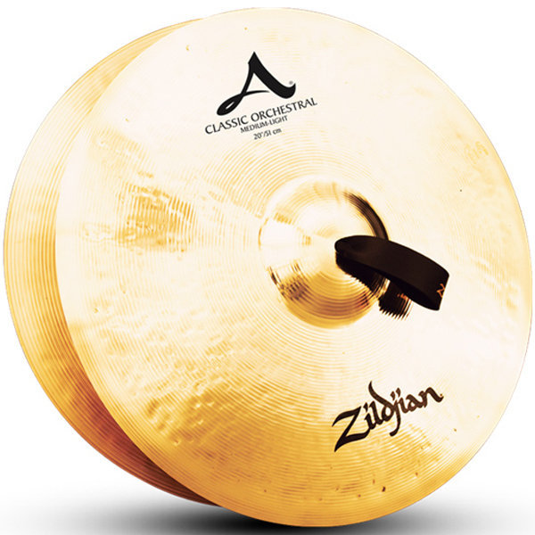 View larger image of Zildjian A0767 20 Classic Orchestral Selection Medium Light Cymbals - Pair