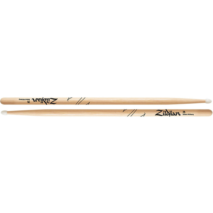 View larger image of Zildjian Hickory Drumsticks - 7A, Nylon