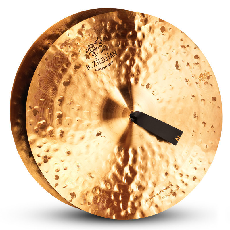 View larger image of Zildjian K Constantinople Vintage Orchestral Cymbals - 18, Medium Heavy, Pair