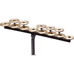 Zildjian P0615 High Octave Crotales without Bar - 13 Notes