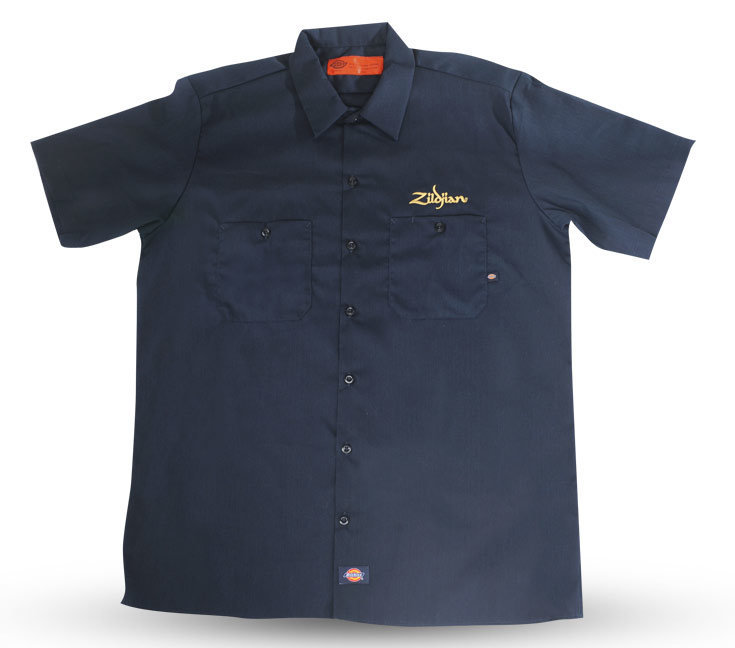 View larger image of Zildjian T4661 Dickie's Work Shirt - Small
