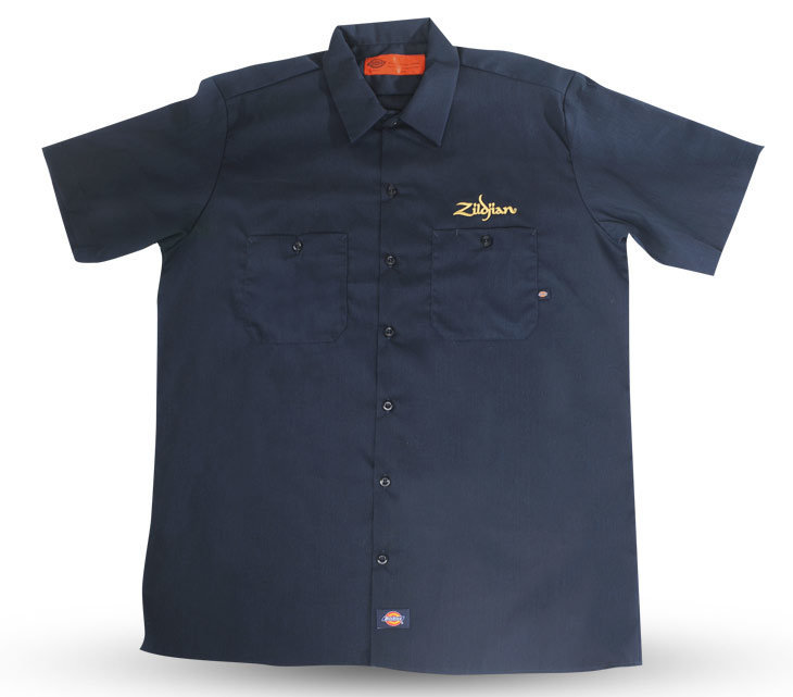 View larger image of Zildjian T4663 Dickie's Work Shirt - Large
