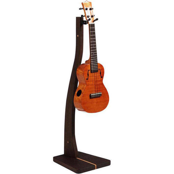 View larger image of Zither Z-Stand Ukulele Stand - Walnut