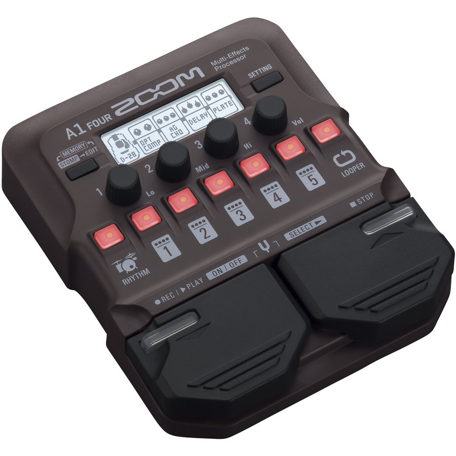 View larger image of Zoom A1 Four Acoustic Instrument Multi-Effect Processor