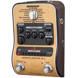 Zoom AC-2 Acoustic Creator Multi-Effects Pedal